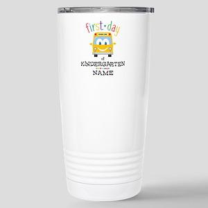 Custom Kindergarten Stainless Steel Travel Mug