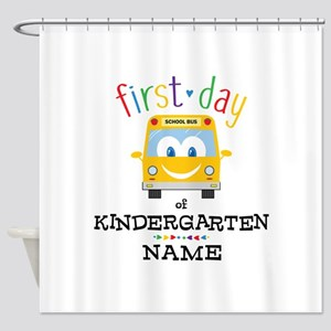 Custom Kindergarten Shower Curtain