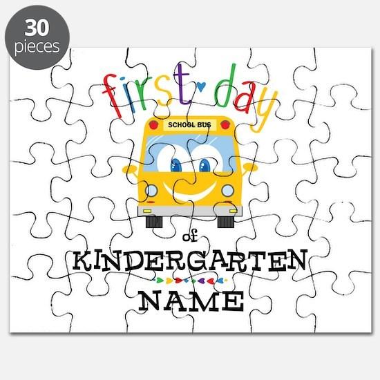 Custom Kindergarten Puzzle