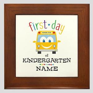 Custom Kindergarten Framed Tile
