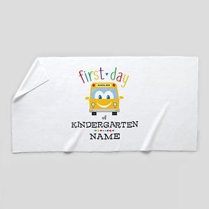 Custom Kindergarten Beach Towel