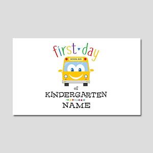 Custom Kindergarten Car Magnet 20 x 12