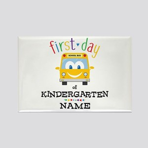 Custom Kindergarten Rectangle Magnet