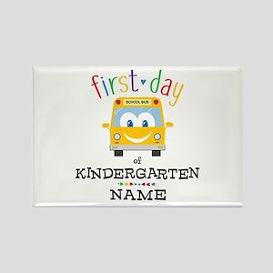 Custom Kindergarten Rectangle Magnet