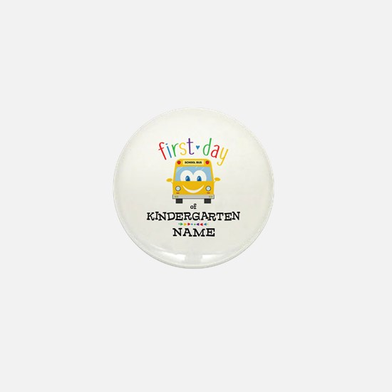 Custom Kindergarten Mini Button