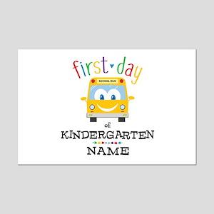 Custom Kindergarten Mini Poster Print