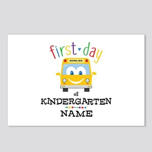 Custom Kindergarten Postcards (Package of 8)