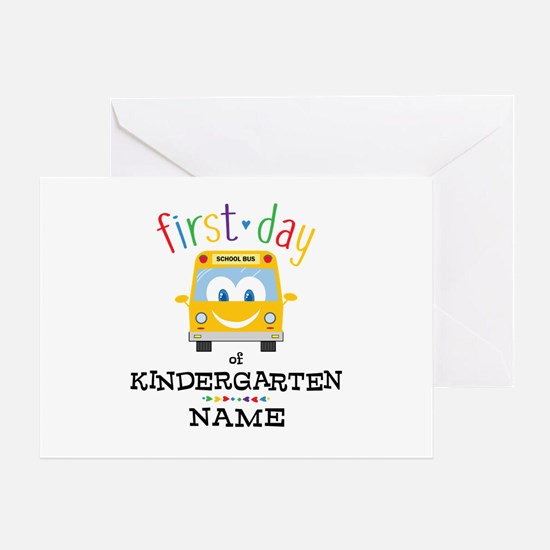 Custom Kindergarten Greeting Card