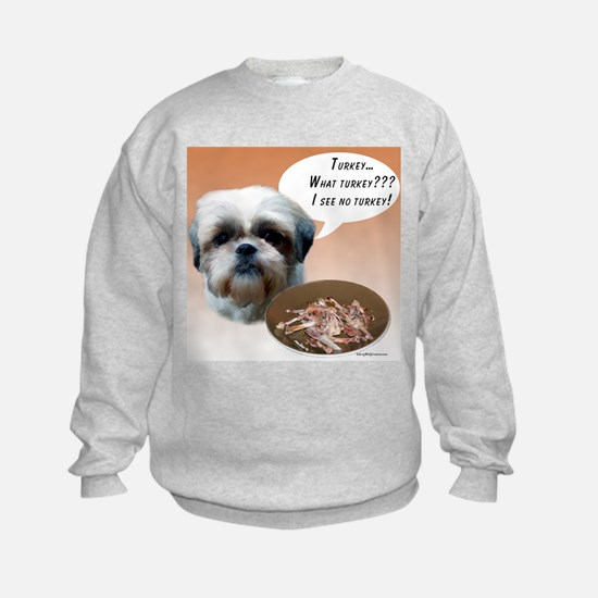 Shih Tzu(natural) Turkey Sweatshirt