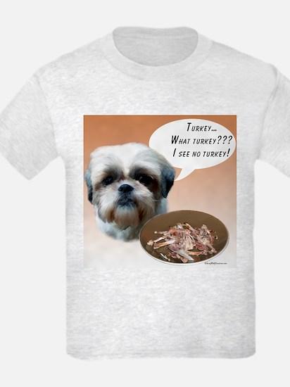 Shih Tzu(natural) Turkey T-Shirt