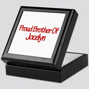 Proud Brother of Jocelyn Keepsake Box