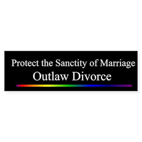 Outlaw Divorce (Black)