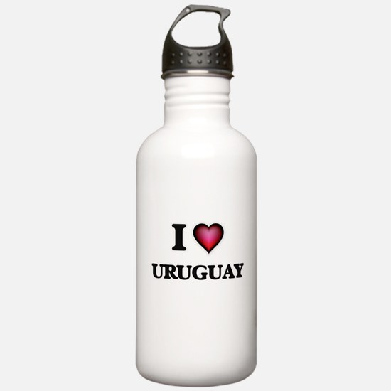 I love Uruguay Water Bottle