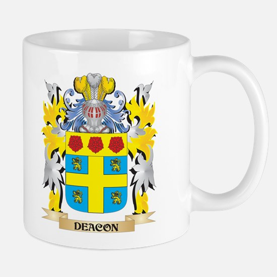 Deacon Coat of Arms - Family Crest Mugs