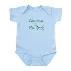 Christmas in NY - Infant Bodysuit