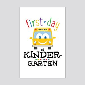 Kindergarten Mini Poster Print