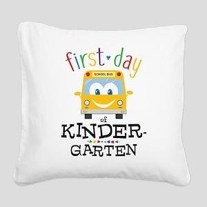 Kindergarten Square Canvas Pillow