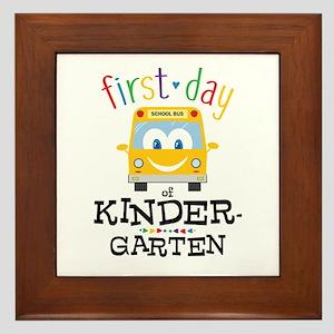 Kindergarten Framed Tile