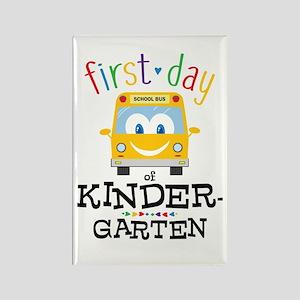 Kindergarten Rectangle Magnet
