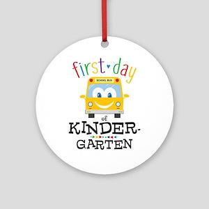 Kindergarten Round Ornament