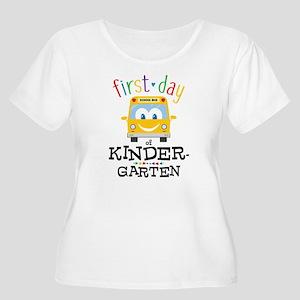 Kindergarten Women's Plus Size Scoop Neck T-Shirt