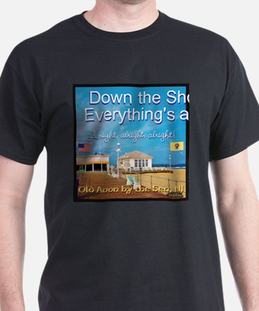 Old Avon by the Sea NJ T-Shirt