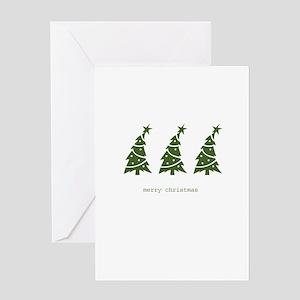 WE THREE TREES Greeting Card