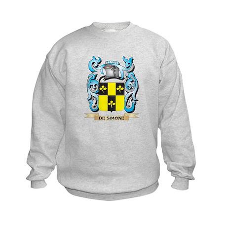 De-Simone Coat of Arms - Family Crest Sweatshirt
