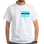 True Blue Wyoming LIBERAL - White T-Shirt