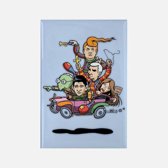 GOP Clown Car '16 Rectangle Magnet