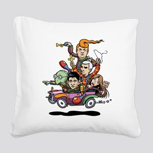 GOP Clown Car '16 Square Canvas Pillow