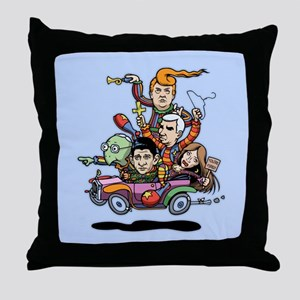 GOP Clown Car '16 Throw Pillow