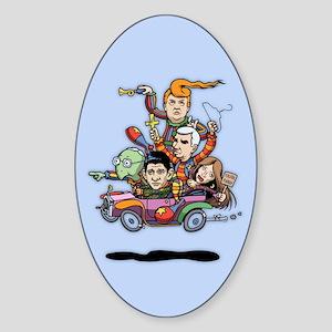 GOP Clown Car '16 Sticker (Oval)
