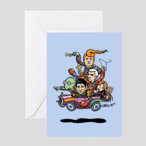 GOP Clown Car '16 Greeting Card