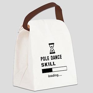 Pole dance skill loading.... Canvas Lunch Bag
