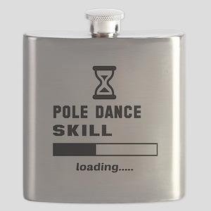 Pole dance skill loading.... Flask