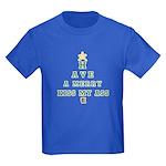 Merry Kiss My Ass Kids Dark T-Shirt