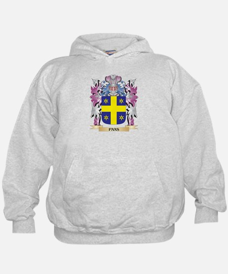 Faas Coat of Arms (Family Crest) Hoodie