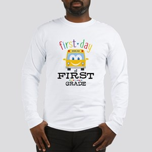 First Grade Long Sleeve T-Shirt