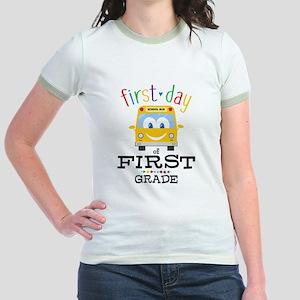 First Grade Jr. Ringer T-Shirt