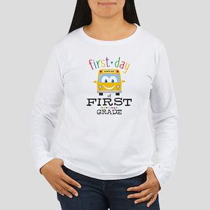 First Grade Women's Long Sleeve T-Shirt