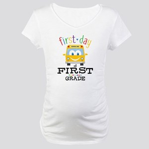 First Grade Maternity T-Shirt