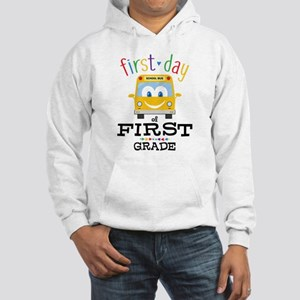 First Grade Hooded Sweatshirt