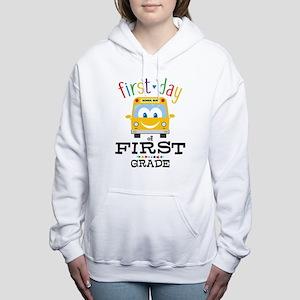 First Grade Women's Hooded Sweatshirt