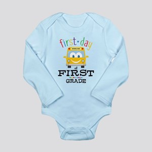 First Grade Long Sleeve Infant Bodysuit