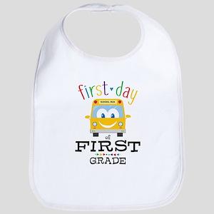 First Grade Bib