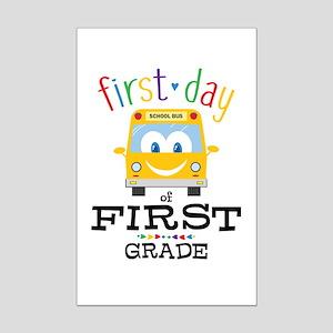 First Grade Mini Poster Print