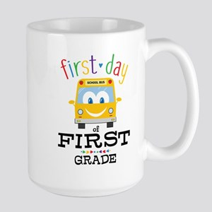 First Grade Large Mug