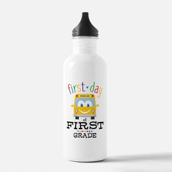 First Grade Sports Water Bottle