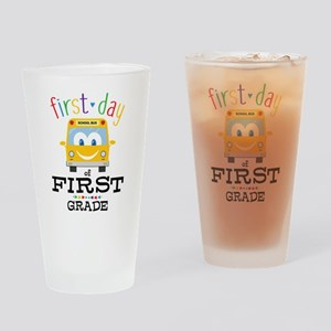 First Grade Drinking Glass